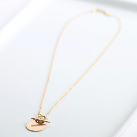 Little Hawk Jewelry Coin Necklace