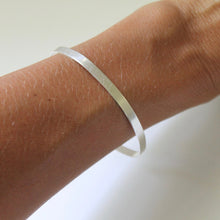 Load image into Gallery viewer, Little Hawk Jewelry Sorority Bangle - Handstamped - Greek Licensed