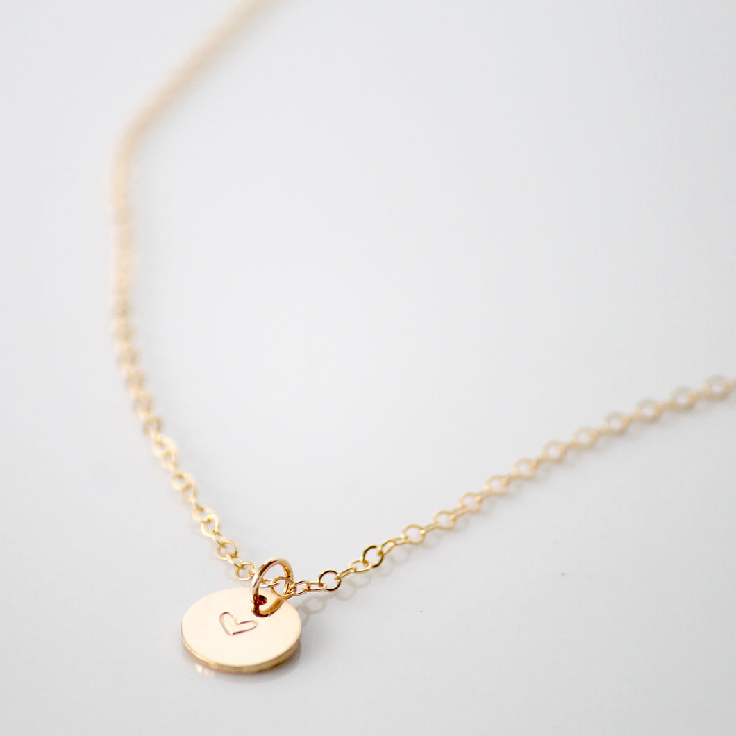 Heart Necklace | Little Hawk Jewelry