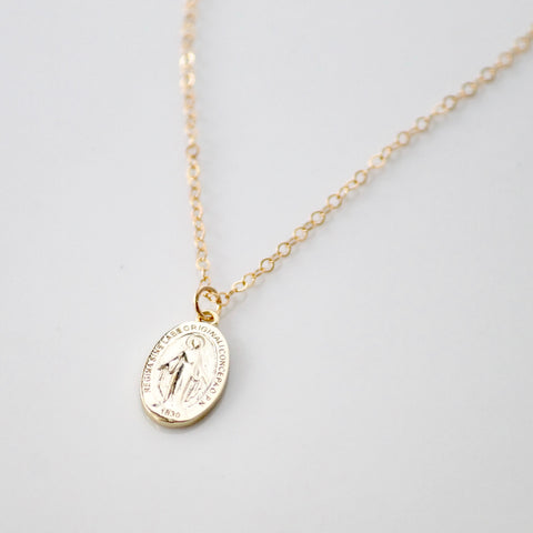 Miraculous Medallion Necklace | Religious Medal