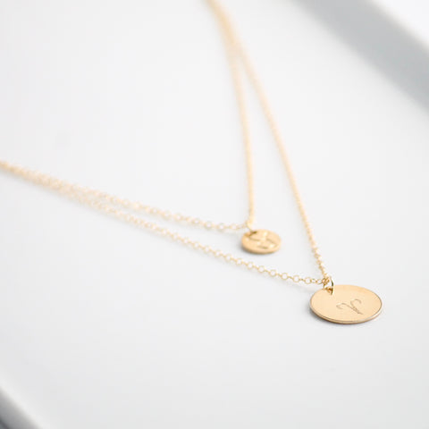 Gold Coin Necklaces | Little Hawk Jewelry