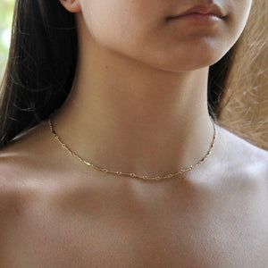 Bar Chain Necklace | Dainty Jewelry | Little Hawk Jewelry