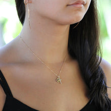 Load image into Gallery viewer, Gold Cross Necklace | Little Hawk Jewelry