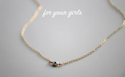 Little Hawk Jewelry | Licensed Greek Bar Necklace