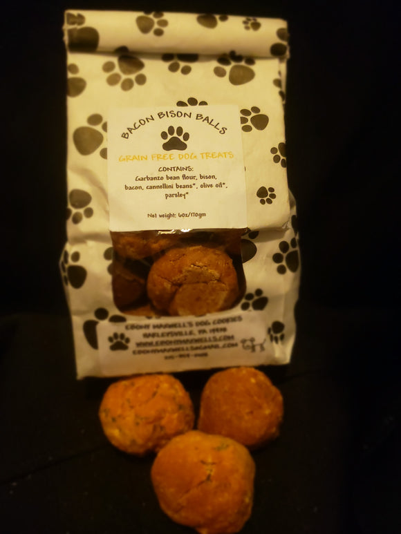 Bacon Bison Balls Grain Free