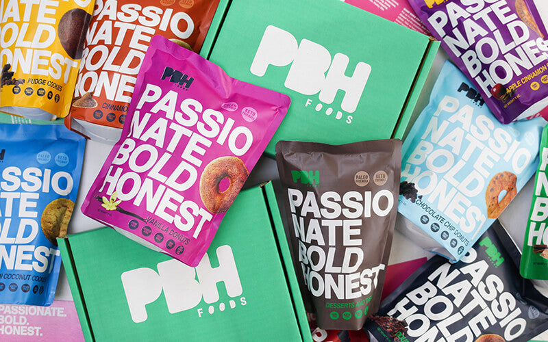 PBH Foods packaging