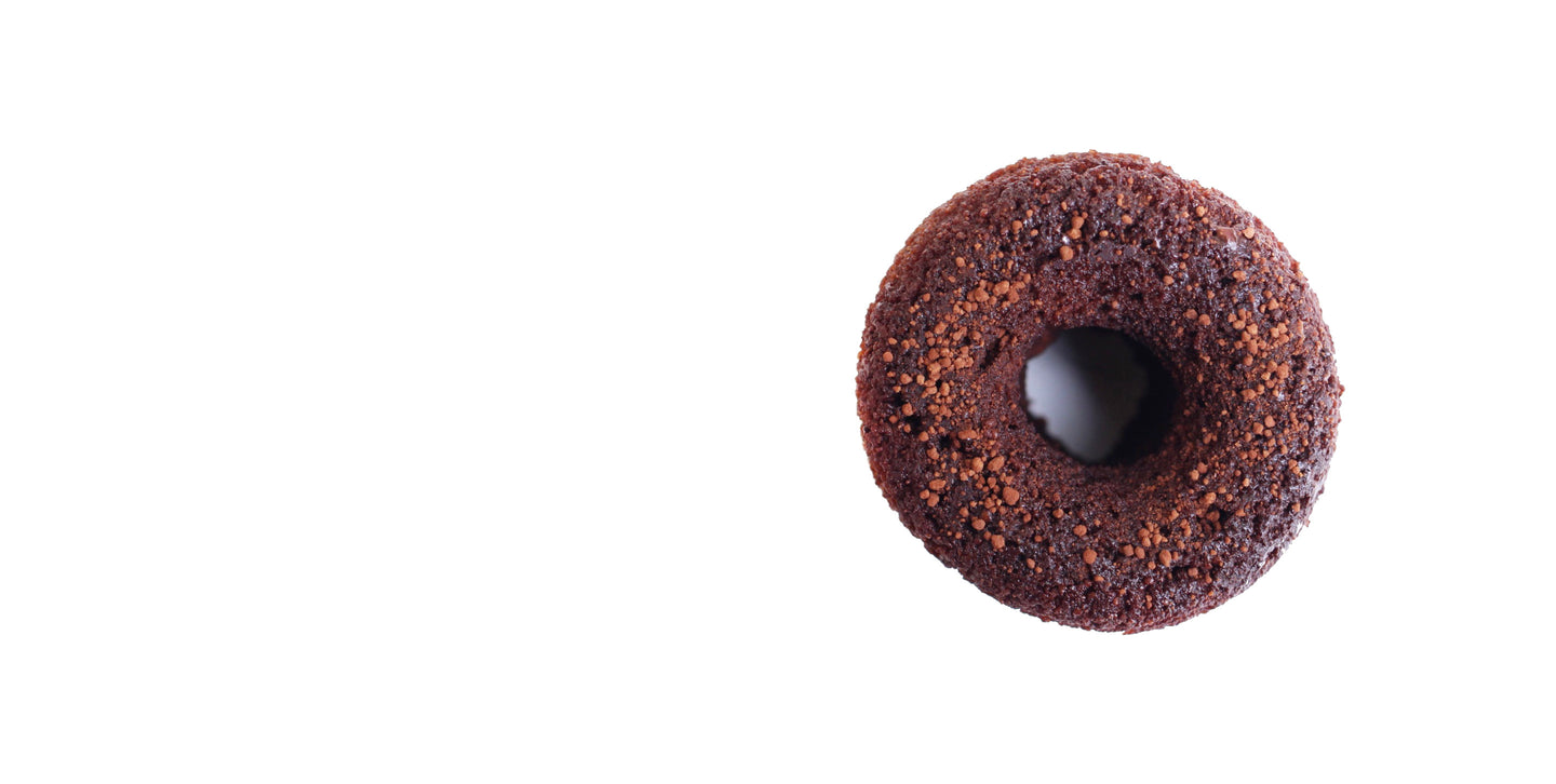 Keto double chocolate donut by PBH Foods