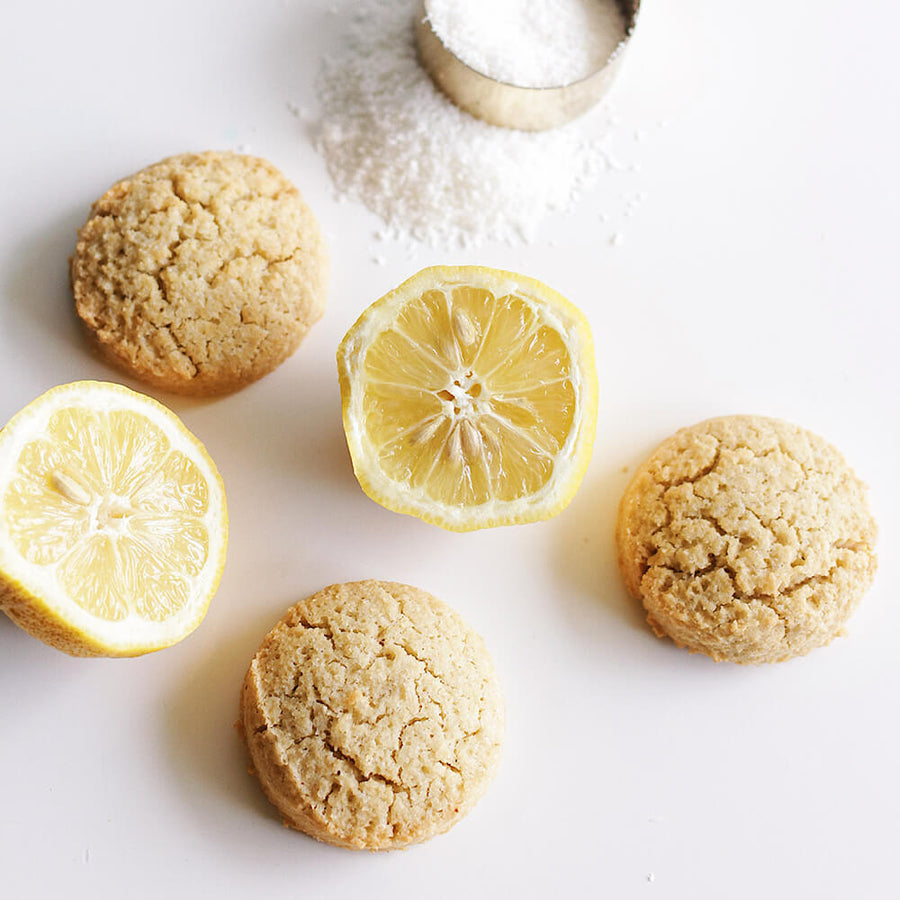 PBH Foods Lemon Coconut Cookies with lemon