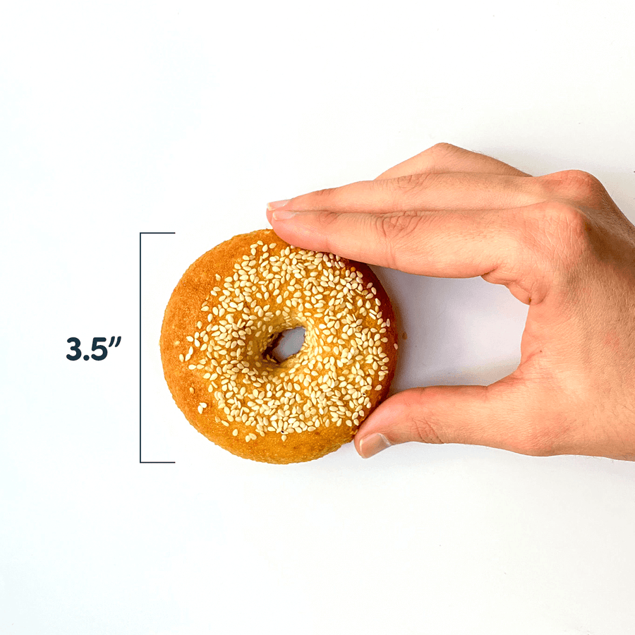 PBH Foods Keto Sesame Seed Bagel Size: 3.5 Inches wide