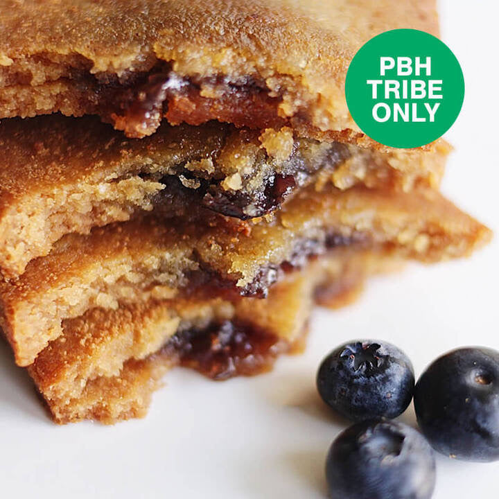 PBH Keto Blueberry Toaster Pastries: PBH Tribe Only