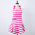 Pink Stripes Gold Dots Mary Jean Apron