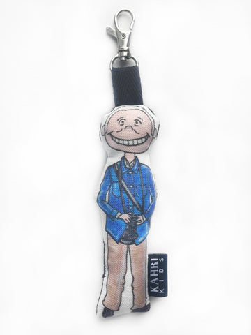 Mini Bill Cunningham Doll Bag Charm