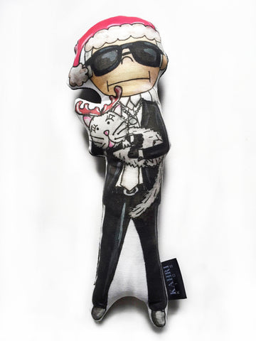 Christmas Karl Lagerfeld Doll