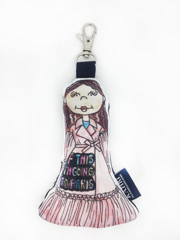 Mini F This Doll Bag Charm