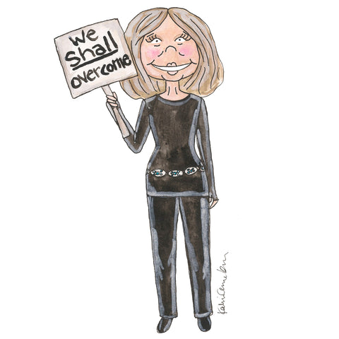 Gloria Steinem Illustration