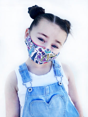 NYC Kids Face Mask with Filter Pocket