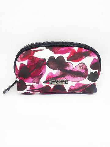 Lips Nylon Small Pouch