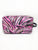 Pink Zebra Nylon Large Dopp Kit