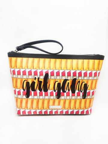 Girl Gang Extra Large Wristlet Pouch