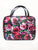 Black Floral Travel Case