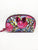Pink Floral Bow Double Zip Dome
