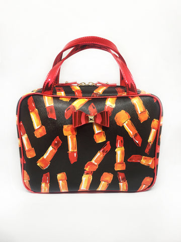 Lipstick Bow Travel Case
