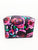Black Floral Small Rectangle Pouch