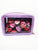 Purple Lips 3 Piece Cosmetic Bag Set
