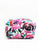 Pink Floral 4 Piece Train Case Set