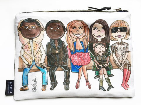 Fashion Week Pouch