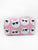 Cool Kitty Neoprene Small Cosmetic Bag