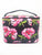 Pink Roses Saffiano Train Case
