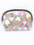 Gelato Glitter Vinyl Small Dome Cosmetic Bag