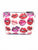 Lips Saffiano Small T Bottom Cosmetic Bag