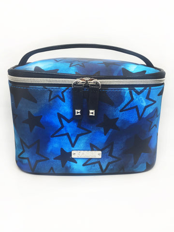 Stars Saffiano Train Case