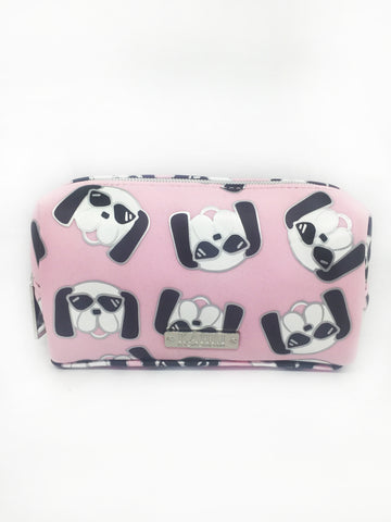 Cool Dog Neoprene Small Cosmetic Bag