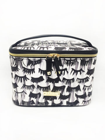 Lashes Saffiano Train Case