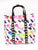 Rainbow Lips and Lipstick Nylon Mini Convertible Backpack