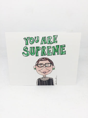 RBG You Are Supreme Card