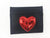 Red Heart Applique Card Holder