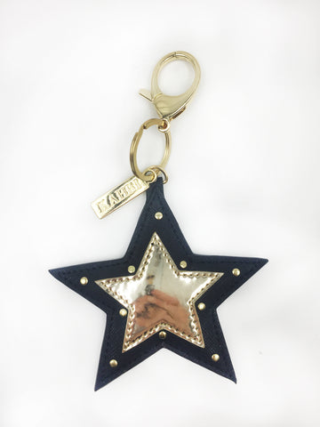 Star Applique Keychain