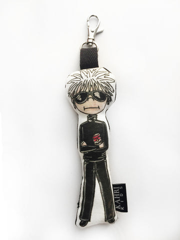 Mini Andy Warhol Doll Bag Charm