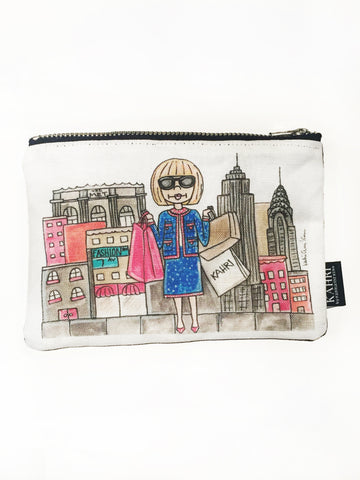 Anna in NYC Coin Purse