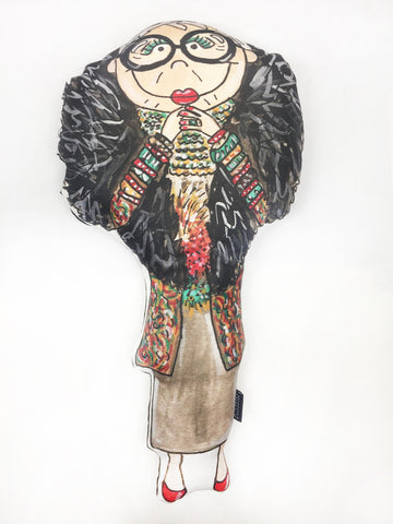 Big Iris Apfel Doll