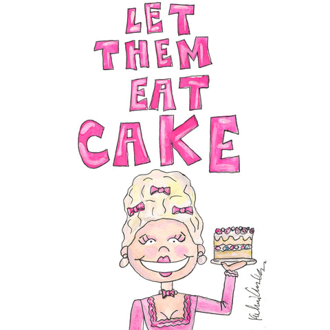 Marie Antoinette Quote Illustration