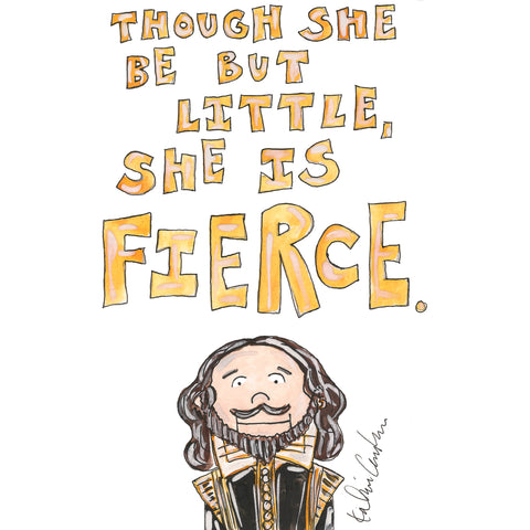 Shakespeare Quote Illustration