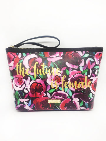 Future is Female Extra Large Wristlet Pouch