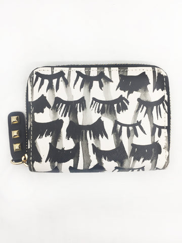 Lashes Small Zip Wallet