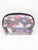 Lips Glitter Vinyl Small Dome Cosmetic Bag