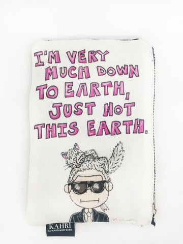 Karl Quote Coin Purse